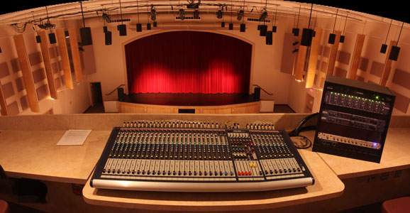 Stage from Control Room