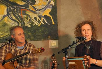 Jim Vautour & Teresa Doyle, Photo by M. Steputh.
